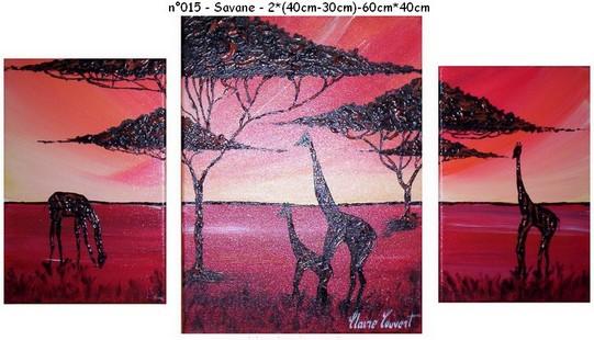 Savane - n014 - 2*(40*30)-60*40