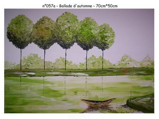 Ballade d`automne - n057a - 70*50