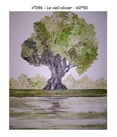 Le vieil olivier - n096 - 60*50