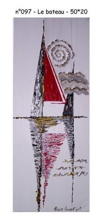 Le bateau - n097 - 50*20